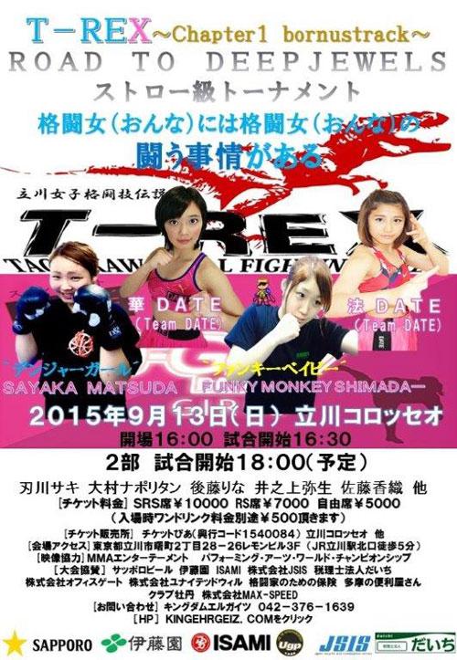 T-REXストロー級Tポスター4