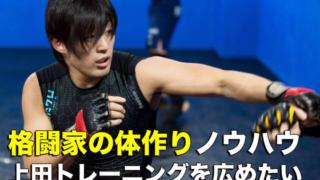 格闘家の体作りノウハウ「上田トレーニング」を広めるクラウドファンディング開始